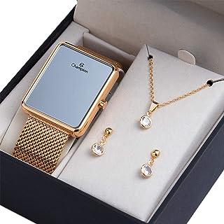 Relógio Digital Champion Rosê Espelhado Ch40080Z