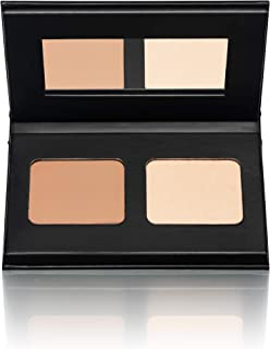 Kevyn Aucoin The Contour Duo On The Go -Sculpting Powder Medium / Highlight Light Candle