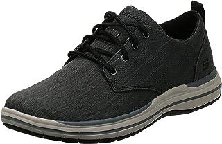 Encaje De Skechers Elson Moten Mens Casuales Zapatos