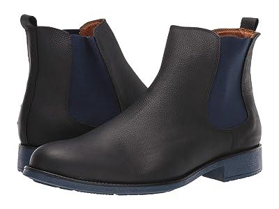 Massimo Matteo Chelsea PT Boot (Black/Azul) Men