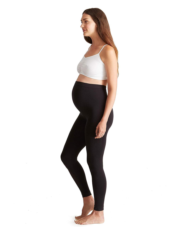 Ingrid & Isabel Women's Seamless Belly Leggings Maternity Pant