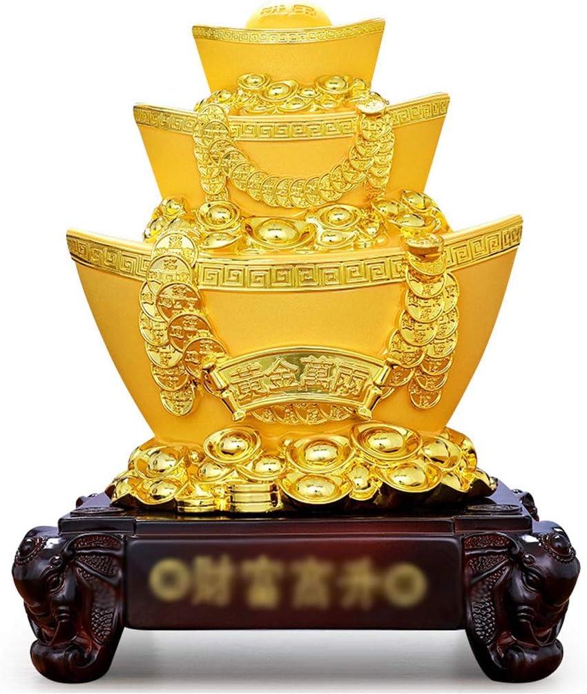 SHUTING2020 Piggy Bank Gold Handmade excellence Crafts Pig Ingot Reservation