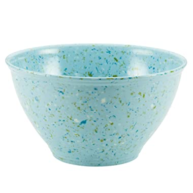Rachael Ray Accessories Kitchen Pantryware Multi Purpose/Salad Serveware/Melamine Garbage Bowl, Agave Blue