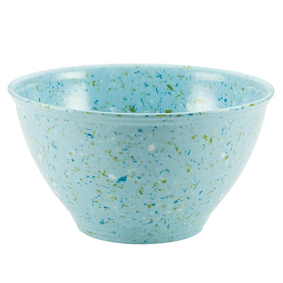 Rachael Ray Kitchenware Garbage Bowl, Light Blue