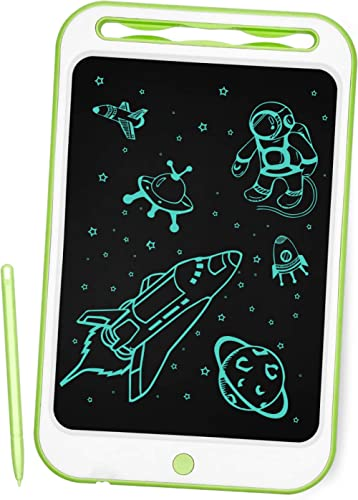 Richgv Pizarra Infantil, Tableta de Escritura LCD de 10 Pulgadas, Pizarra magnética para niños, Juguetes electrónicos...