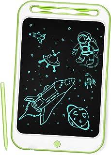 Richgv Pizarra Infantil, Tableta de Escritura LCD de 10 Pulgadas, Pizarra magnética para niños, Juguetes electrónicos para...