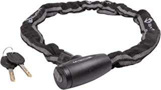 Chain Key Lock 33.5 inches with Reflective Strip, Black