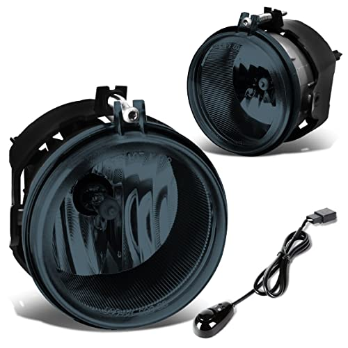 For Charger/Challenger/Patriot/Sebring Pair of Bumper Driving Fog Lights + Wiring
