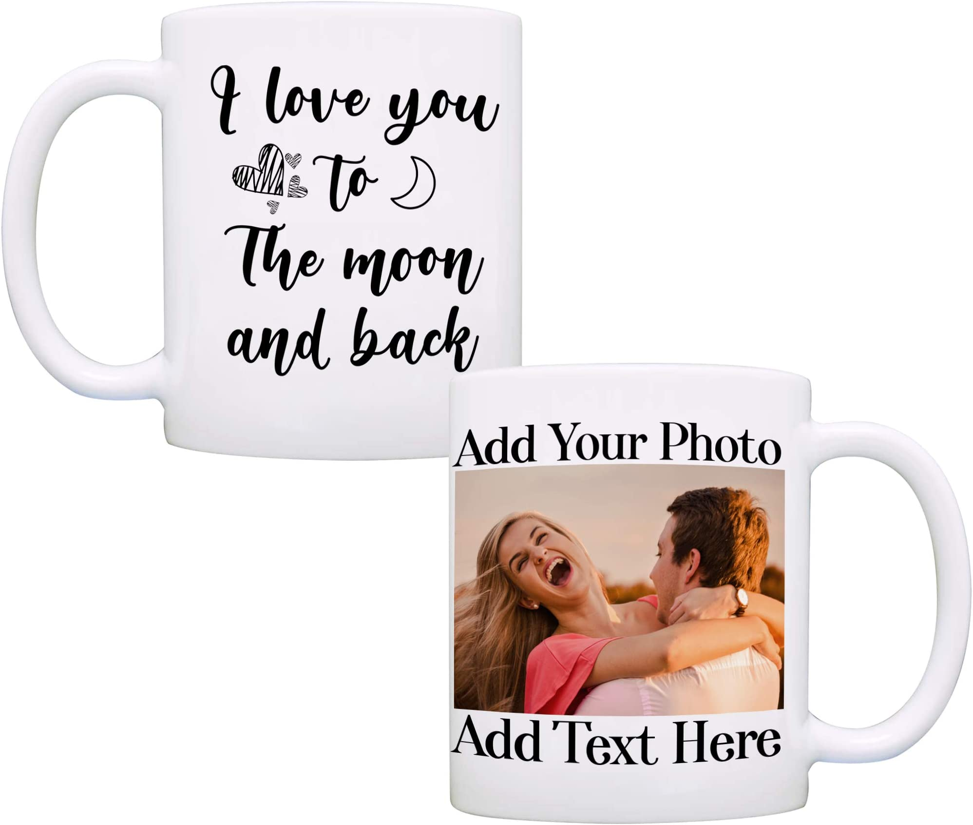 """""""Love You To The Moon And Back"""" 3D Wooden Plaque With Handle The Perfect Gift!"""