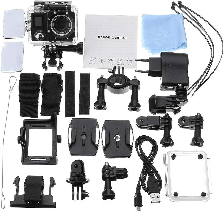 16MP Waterproof Sportscamera 2 inch TFT Action Ultra Hd 4K Dual Screen WiFi DV Camcorder
