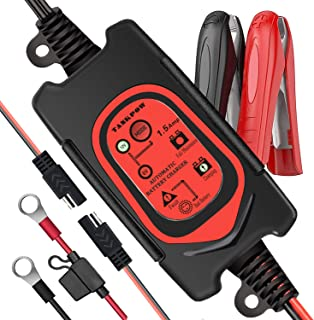 Sponsored Ad - TANKPOW 6V/12V 1.5Amp Fully Automatic Smart Battery Charger, Trickle Charger, Battery Maintainer with Fault...