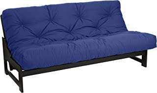 Mozaic Futon Mattress, Full, Blue