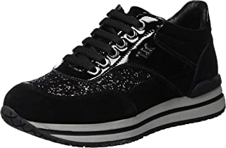 Amazon.it: con. glitter Nero Sneaker Scarpe da donna