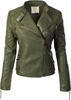 a0c69acf5 Amazon.com  Greens - Leather   Faux Leather   Coats