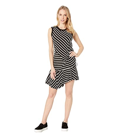 Parker Nicola Dress (Black/White Stripe) Women