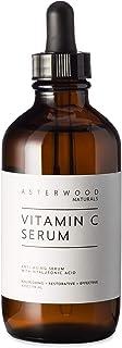 Vitamin C Serum 4 oz with Organic Hyaluronic Acid, Diminish Sun Spots, Anti Aging, Anti Wrinkle, Oxygen Stable and PH Bala...