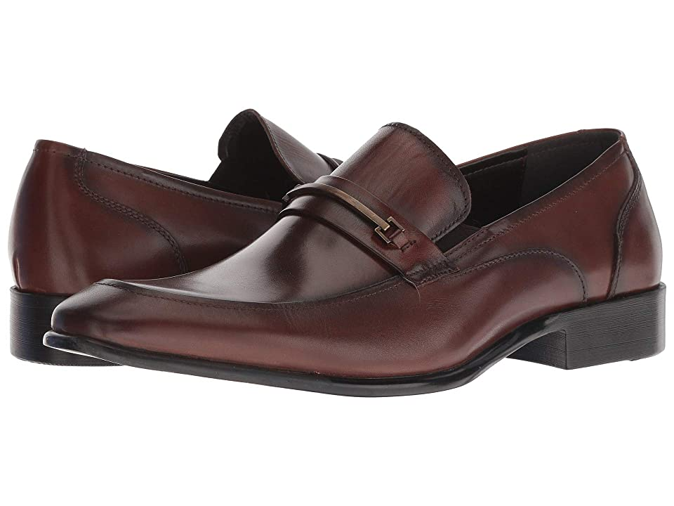 Kenneth Cole Reaction Brendan Slip-On (Brandy) Men