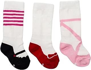 Cheski Baby Girls' Knee Socks Stay Put on Baby's Kicking Legs ~ Ruby Slippers/Ballet/Mary Jane