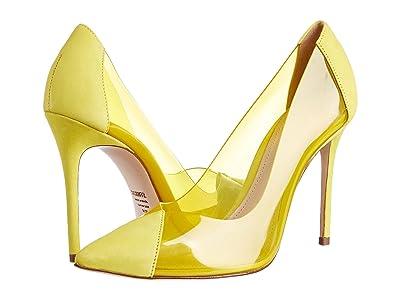 Schutz Cendi (Lemon Vinil/Deluxe Suede) High Heels