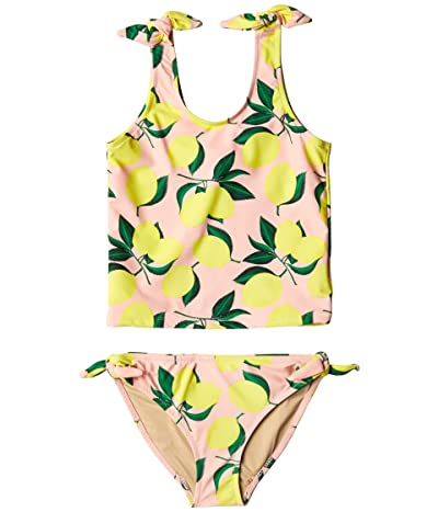 shade critters Tankini Tie Side with Lemons (Toddler/Little Kids/Big Kids) (Pink) Girl