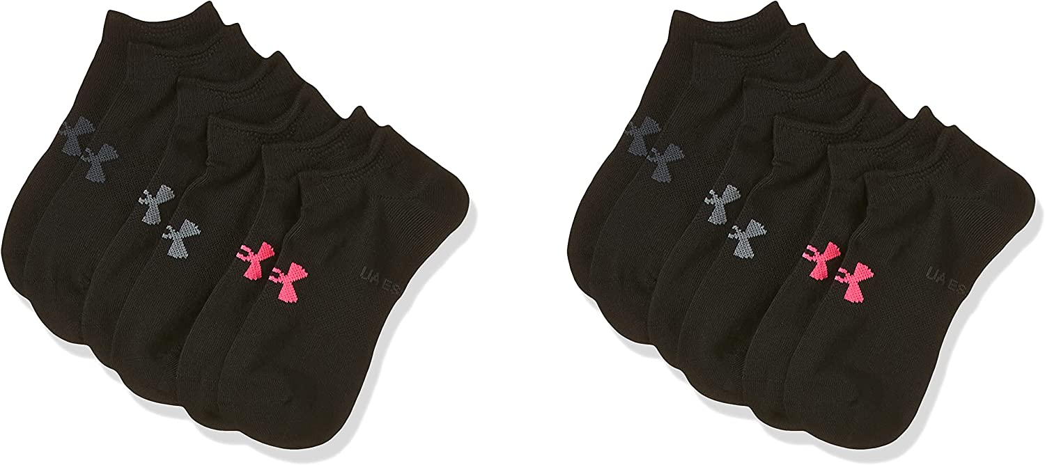 Under Armour Essential No Max 67% OFF Show - Womens Black Max 59% OFF Socks