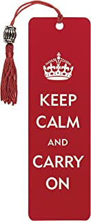 Best keep calm and carry on bookmark Reviews