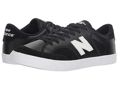 New Balance Numeric NM212 (Black/White 1) Men
