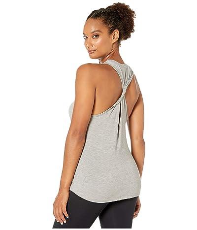 New Balance Transform Jersey Twist Tank (Athletic Grey) Women