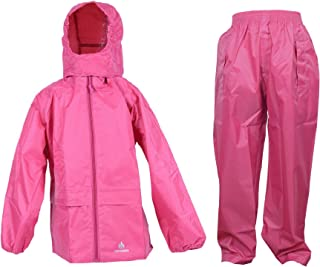 DRY KIDS - Jacket and Trouser Set 3-4 Yrs Rasp Pink