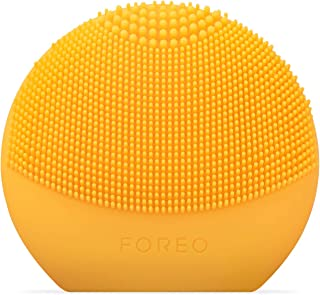 FOREO FOREO LUNA fofo Smart Face Brush Sunflower Yellow for 100% Personalized Cleansing, Sunflower Yellow, 0.122 kilograms