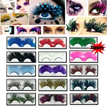 Best colored fake eyelashes Reviews