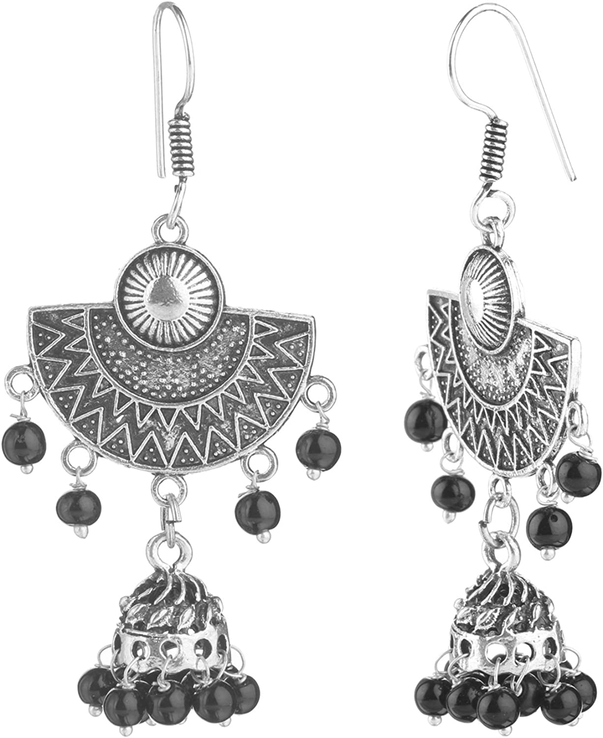 Ethnadore Clearance SALE! Limited time! Bohemian Vintage Luxury Antique Silver Oxidized Beads Indian