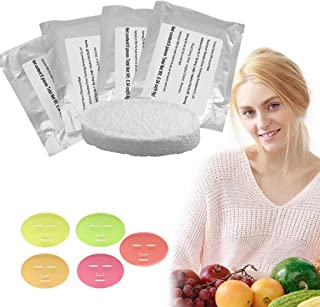 Face Mask Machine, Voice Broadcasting Full Automation DIY Natural Fruit Vegetable Facial Care Mask Maker Machine With FDA-certified (32Pcs Collagen)