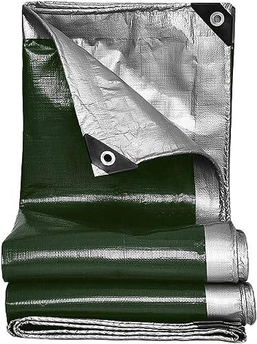 Duanguoyan Bache- Bache de Prougeection en Plastique de Camion de Voiture de Tissu de Prougeection Solaire de Tissu imperméable extérieur (Couleur   Le Vert foncé, Taille   3X4m)