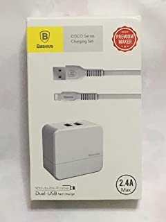 Baseus TZCOCO-02 COCO Series Charging Set - White