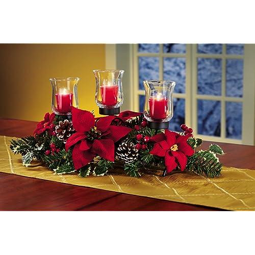 Christmas Table Centerpiece Decorations Amazon Com
