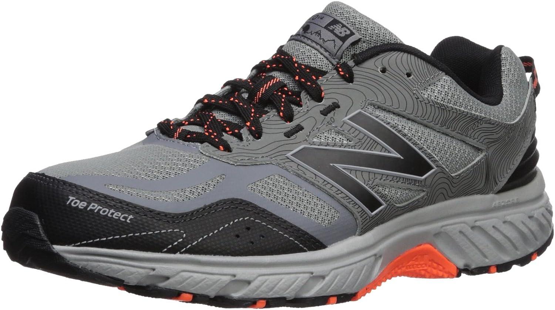 nouveau   Hommes's 510v4 Cushioning Trail FonctionneHommest chaussures, gris noir, 7.5 4E US