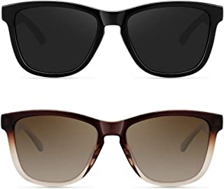Fashion Polarized Sunglasses for Women Men Classic Vintage UV Protection Shades