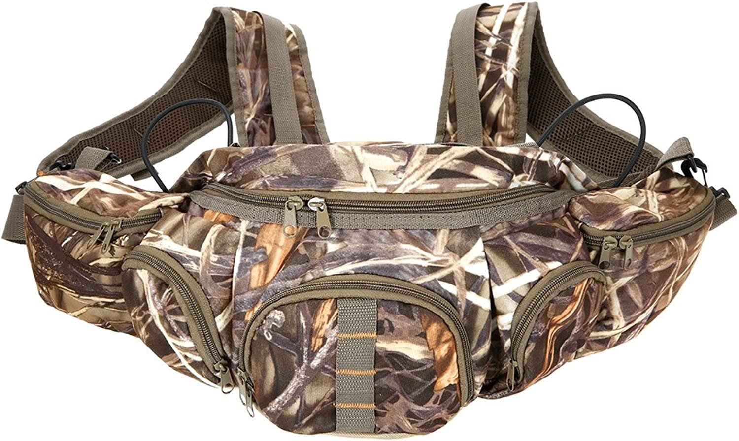 Walmeck Multifunctional Outdoor Waist Bag Climbing Camouflage Bag for Outdoor Hiking Fishing Camping Sports Hunting Fanny Pack