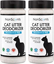 NonScents Cat Litter Deodorizer – Litter Box Odor Eliminator – Fragrance Free –..