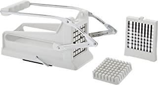 """Prepworks by Progressive Jumbo Potato Cutter Features Interchangeable ⅜"""" and ½"""" cutting blades for French Fry Cutter, Veggie Slicer (Renewed)"""