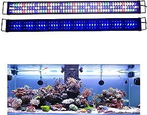 KZKR Aquarium LED Fish Tank Light 60-72 inch