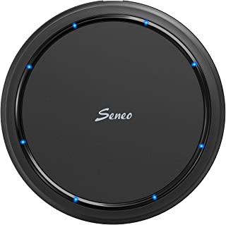 Wireless Charger, Seneo 7.5W Qi Fast Wireless Charging Pad Compatible with iPhone Xs/Xs max/XR/X/8/8 Plus, 10W for Galaxy Note 9/S9/S9+/S8/S8+/S7/Note 8, 5W for All Qi-Enabled Devices(No Adapter)