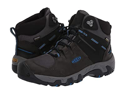 KEEN Steens Mid Waterproof (Magnet/Sky Diver) Men
