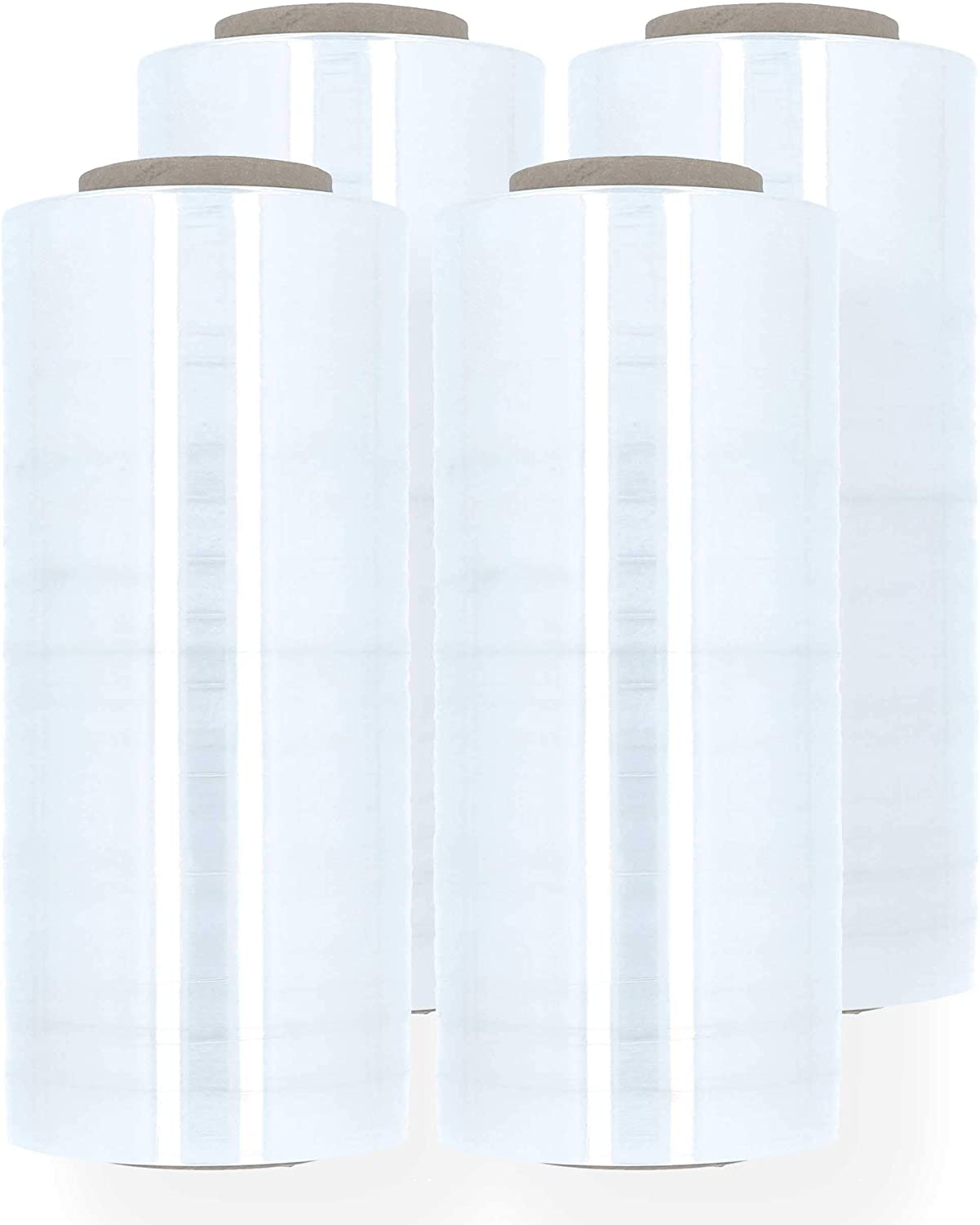 Plastic Packing Wrap Ranking integrated 1st place Blown Stretch Film x Max 69% OFF 18 Clear Inch 1000 Fe