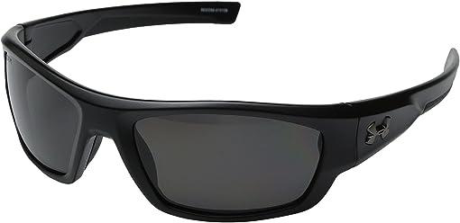 Storm ANSI Satin Black/Black Frame/Gray Polarized Lens