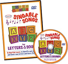 Singable Songs for Letters and Sounds DVD