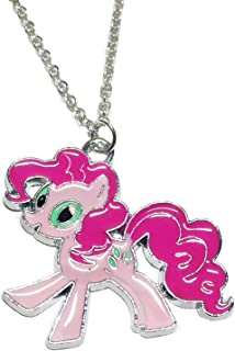 My Little Pony Pinkie Pie Character Enamel Filled Pendant NECKLACE