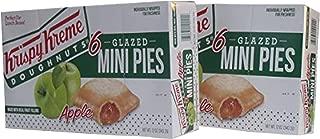 Krispy Kreme Glazed Mini Pies - 6-2 oz Glazed Mini Pies Per Box - Two Boxes: Apple