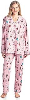 BedHead Pajamas BHPJ Women's Brushed Back Soft Knit Pajama Set